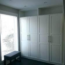 sliding closet doors ikea pax wardrobe problem