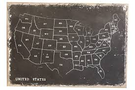 Home Accents United States Map Wall Decor