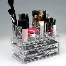 acrylic makeup organizer muji urban escape 3 drawer cosmetic