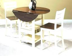 table with folding sides fold down kitchen dining furniture small leaf light oak round up room