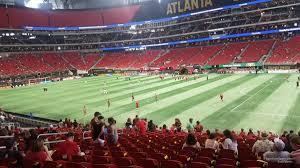 Atl Utd Seating Chart Mercedes Benz Stadium Section 106 Atlanta United