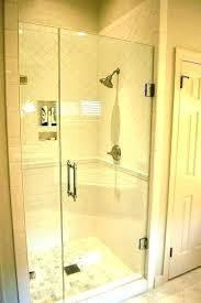 frameless glass shower doors thickness h semi framed sliding tub door in n bathrooms wonderful enclosure