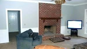 fireplace brick colors fireplace paint colors what color goes with red brick talk me out of