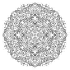 Coloriage Gratuit Imprimer Mandala Coloriages Pinterest Malen