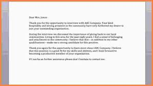 11 Thank You Letter After Interview Examples Free Invoice Letter