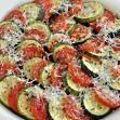 Кабачок запеченный с сыром и помидорами в духовке рецепт 138