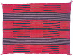 Traditional navajo rugs Hand Woven Adolescent Womans Wearing Blanket C 1880 Variation Of Classic Second Phase Pattern Alamy Quick Guide To Navajo Rugs Canyon Road Arts