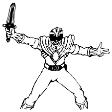 Small Picture Top 25 Free Printable Mighty Morphin Power Rangers Coloring Pages