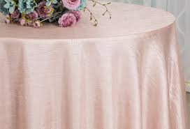 120 round seamless crushed taffeta tablecloth 31 colors