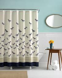 image of designer shower curtains extra long
