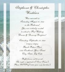 26 Beach Wedding Invitation Templates Psd Ai Word Free