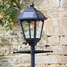 victoriana 365 solar powered lamp post