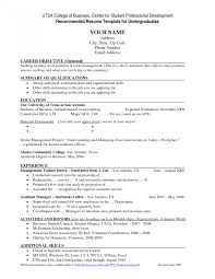 How To Make Resume For Summer Job Resume College Resumes How To Write Student With Examples Template 71
