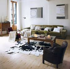 cowhide rug living room ideas amazing decorating simple small