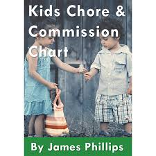 Kids Commission Chart Kids Chore And Commission Chart Financial Champs