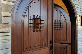 wood entry doors offer traditional