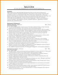 6 It Project Manager Resume Example Laredo Roses