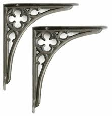 pair 8 20cm small cast iron victorian