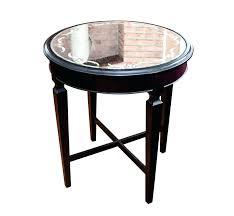 arhaus end tables mirror end table arhaus furniture copper wax