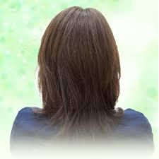 脱毛症抜毛症の方向け部分ウィッグ 医療用ウィッグはオーガニック