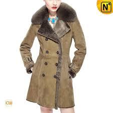 shearling pea coat cw640230 cwmalls com