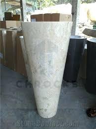 Marble pedestal sink Wash Basin Marble Pedestal Sink Marble Pedestal Sinks Beige Marble Basins Antique Marble Console Sink Marble Pedestal Sink Stonecontactcom Marble Pedestal Sink Stone Kitchen Bath Sink Round Vessel Sinks