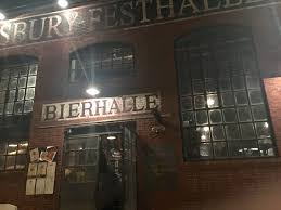 one of the places we planned on going to from one of my friends suggestion was the asbury festhalle and biergarten when we first came we were welcomed