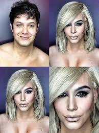male makeup artist can turn himself into kim kardashian beyoncé and more plex