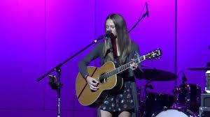 "Ava Hanson singing Ed Sheeran ""Photograph"" - YouTube"