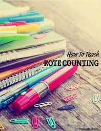 How To Teach Rote Counting   PrimaryLearning.org