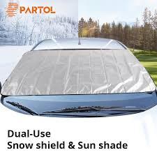Partol Universal <b>Portable Car</b> Side <b>Window</b> Sunshade Covers Set ...