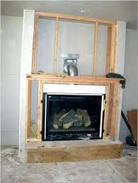 cost to install fireplace installing gas of