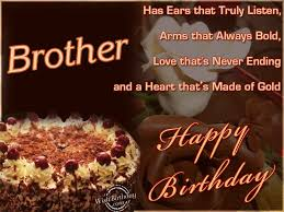 Birthday Wishes For Brother Happy Birthday Images Happy Birthday