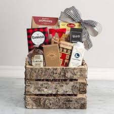 canadiana um gourmet gift basket s by coco mira dorians baked