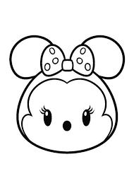 Tsum Tsum Coloring Pages Dipinti Disegni Kawaii Disegni Da