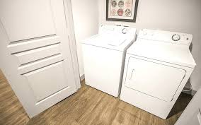 Washer And Dryer In Bedroom At The District Apartments 1 Bedroom Unit Washer  Dryer Washer Dryer In Bedroom Closet