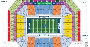 Ford Field Seating Chart In Play Magazine