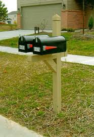 double mailbox post plans. Photo Gallery MailboxTime Com With Dual Mailbox Post Ideas 7 Double Plans P