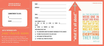 Welcome Card Templates Pledge And Welcome Cards Church Offering Envelopes By One