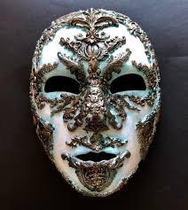 Mask Designs Full Face Tarnished Copper Venetian Carnival Full Face Mask Full