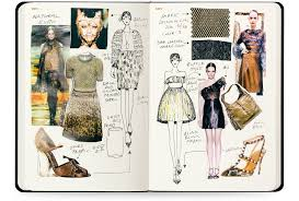 Fashion Definitions By Designers Womens A5 Sketchbook Fashion Design Sketchbook Fashion