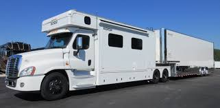 you see many successful racers with matched renegade haulers and trailer flying a motorsports can match this trailer with a renegade hauler or other brands