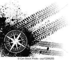 tire track background. Wonderful Background Tire Tracks With Wind Rose  Csp13266283 Intended Track Background