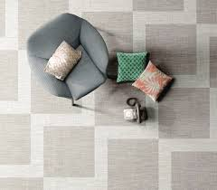 ceramica sant agostino s new porcelain tiles have the warm look of a woven carpet as shown in this playroom ceramica sant agostino