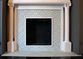 moroccan tile fireplace moroccan fireplace tiles uk
