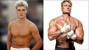 Dolph Lundgren shows how to stay fit in isolation with exercise band  workout - Time to be United!