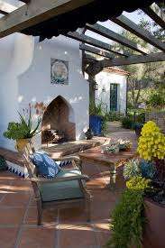 which mediterranean patio style is