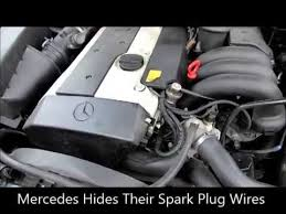 replacing spark plugs wires and coil packs on e mercedes replacing spark plugs wires and coil packs on 1996 e320 mercedes i6