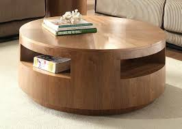 modern round coffee table for elegant look contemporary sets