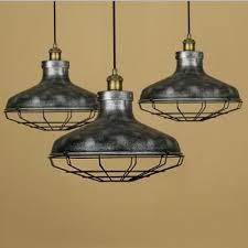 cage lighting pendants. Cage Style 14\u0027\u0027 Wide Mottled Silver 1 LightIndustrial Pendant Ceiling Hanging Lamp Lighting Pendants